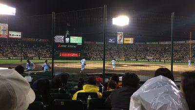 振らな、はじまらん。阪神1-どっか11